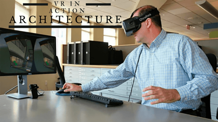 VR in architecture; virtual reality in construction