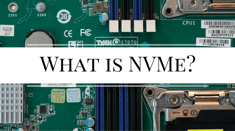 what is NVMe