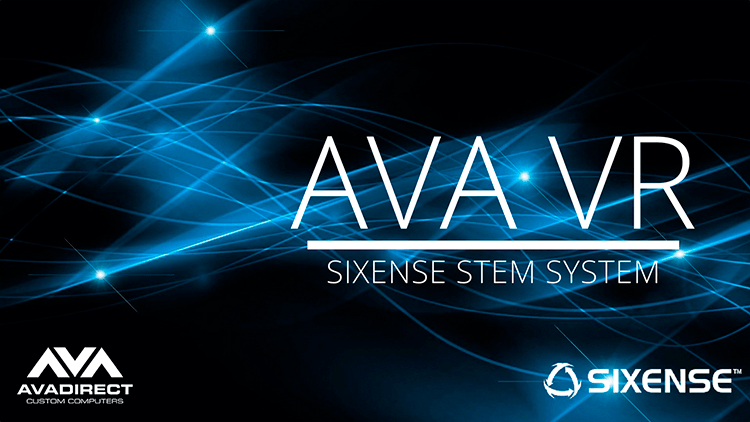 AVA Sixense VR Desktop - virtual reality computer for Sixense STEM system