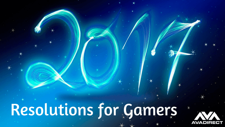 2017 Resolutions for Gamers